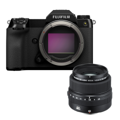 Fujifilm GFX 100S + GF 63mm f/2.8 R WR