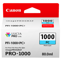 Canon Ink PFI -1000 Photo Cyan