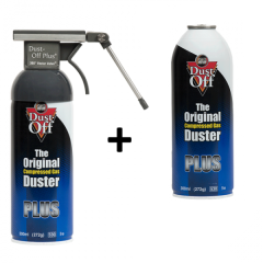 Dust Off Plus Kit 300 ml 360° + Ersatzkartusche