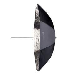 Reflexschirm Shallow silber 105cm