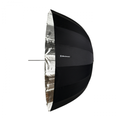 Reflexschirm Deep silber 105cm