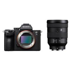 Geh/äuse-//Objektivr/ückdeckel Set//Front und R/ück A-Mount Deckel f/ür Kamera-Geh/äuse und Objektiv Sony Alpha Body