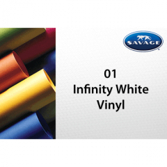 Vinyl Hintergrund 1.52 x 2.13 m Infinity White