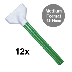Visible Dust Swabs MXD-100 green 42-44mm / 12 Stk.