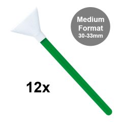 Visible Dust Swabs MXD-100 green 30-33mm / 12 Stk.